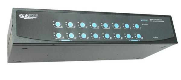 Newstar KVM Switch 16-Ports PS/2/USB/SER(OSD)