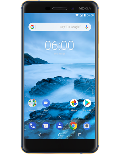 Nokia 6.1 Single Sim 32GB blauw