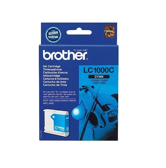 Image of Brother Ink Cartridge Lc1000C Cyan 400Pages