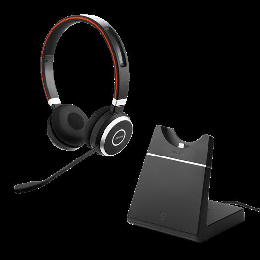 Jabra Evolve 65 UC Stereo incl. Oplaadhouder
