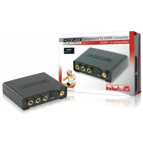Konig Component naar HDMI omvormer