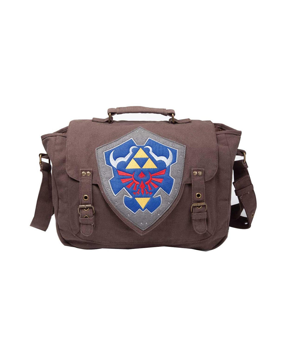 Difuzed Zelda Brown Link shield bag