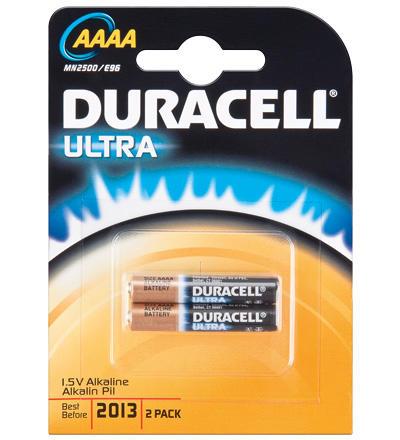 Duracell Ultra Power AAAA 2 stuks