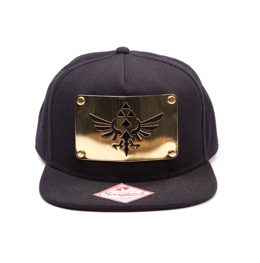 Image of Bioworld Zelda Golden plate Snapback