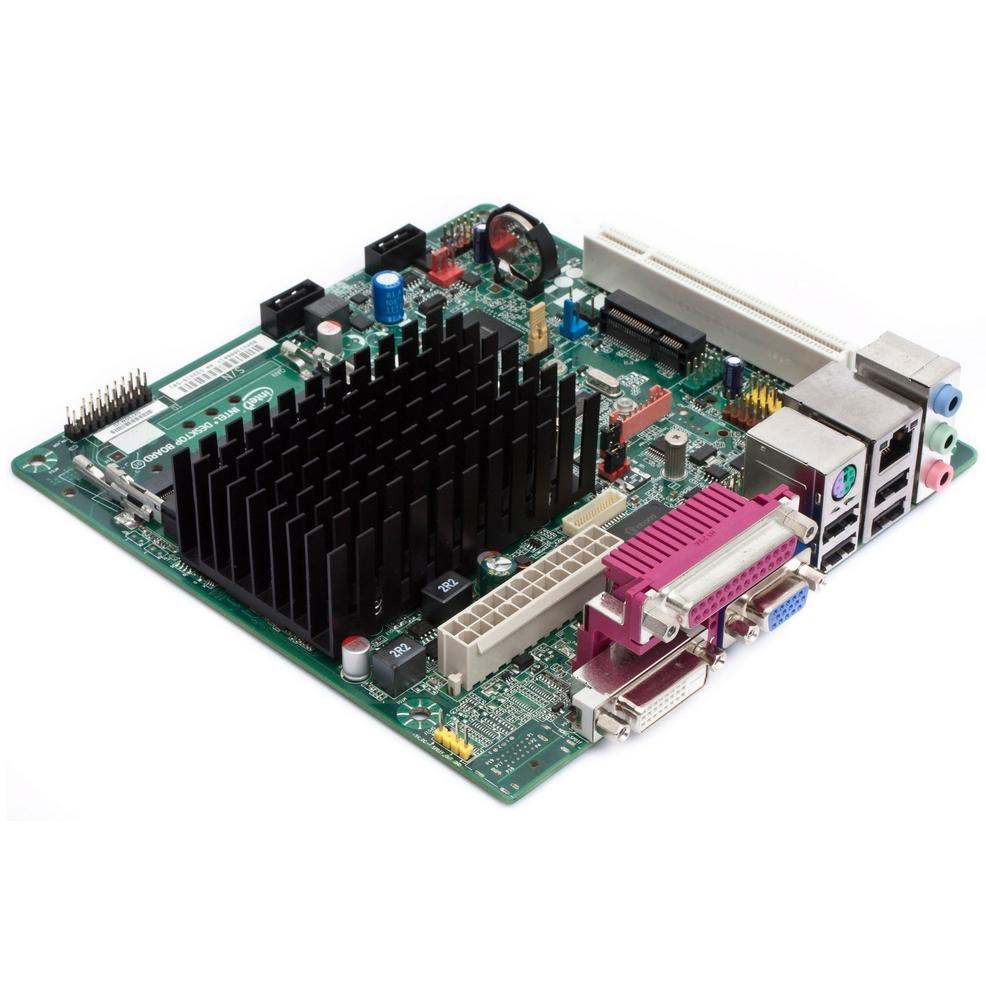 Intel Atom-D2700, VGA, DDR3, PCI-E, Mini-ITX