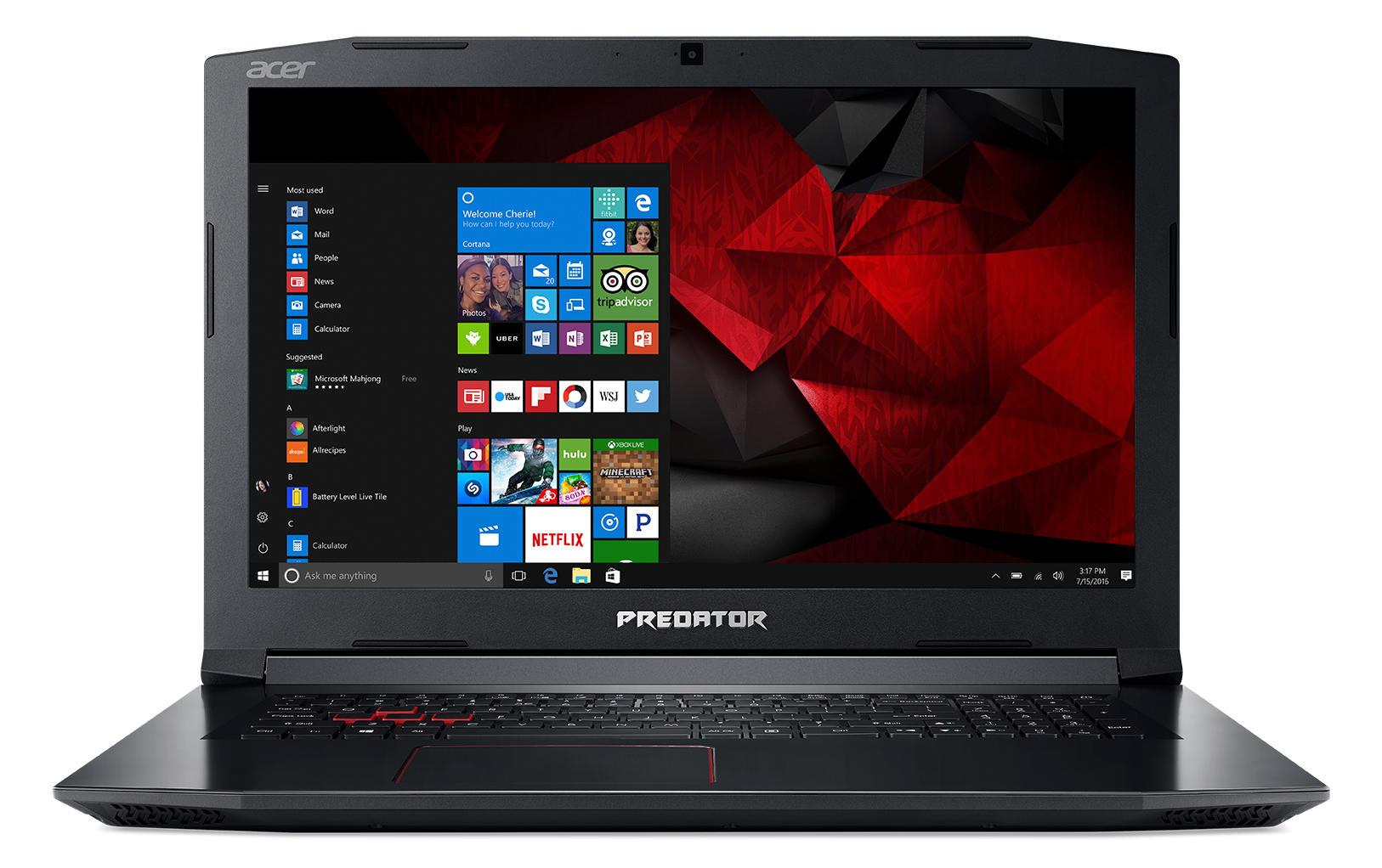 Acer Predator Helios Ph317-51-77kb Laptop