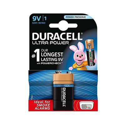 Duracell Ultra Power 9V batterij