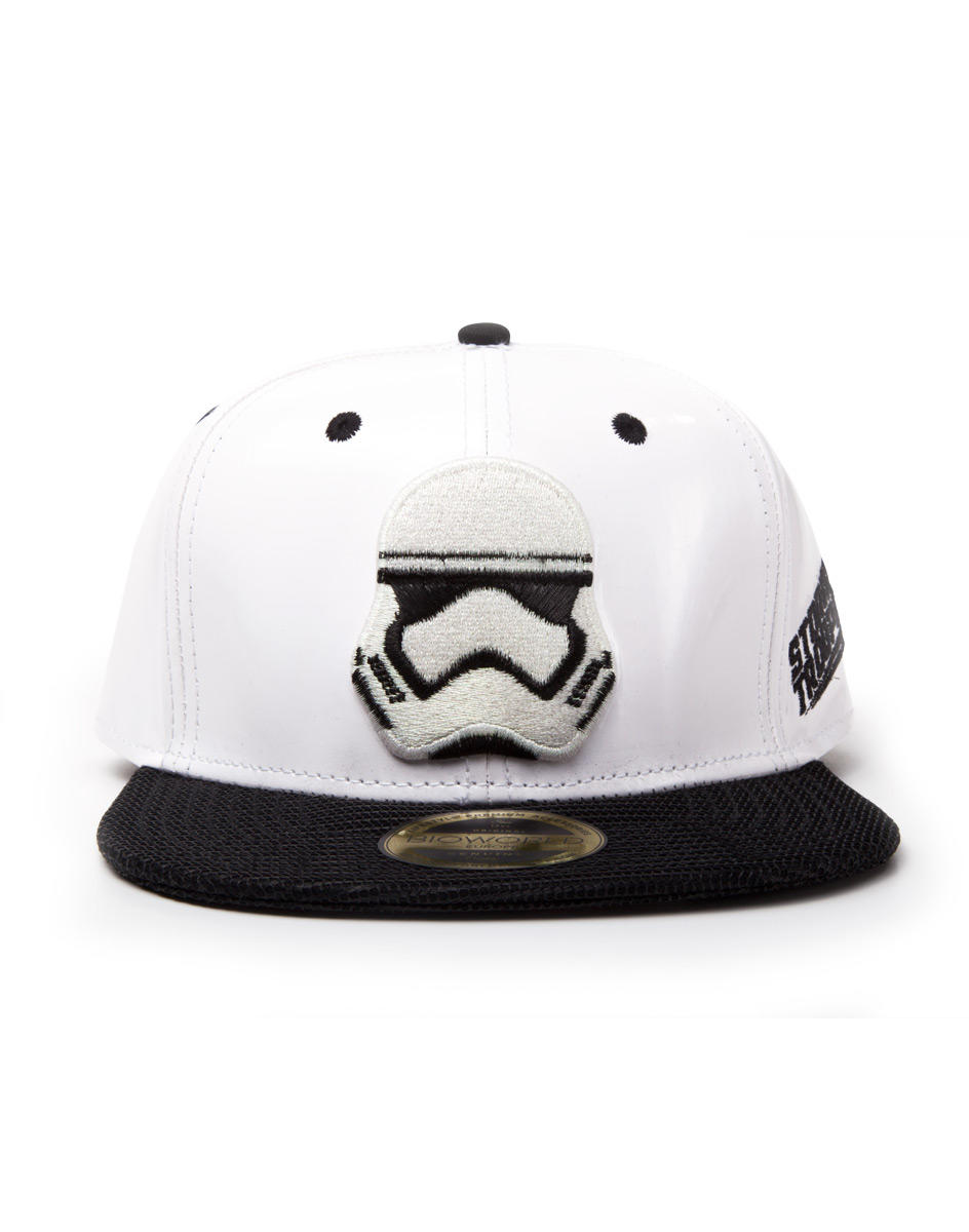 Image of Bioworld Star Wars Stormtrooper snapback