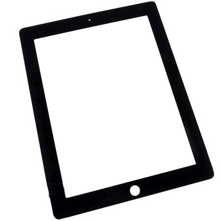 iPad 3 & 4 Digitizer zwart