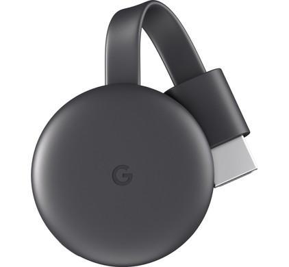 Div.Merken Chromecast V3 zwart