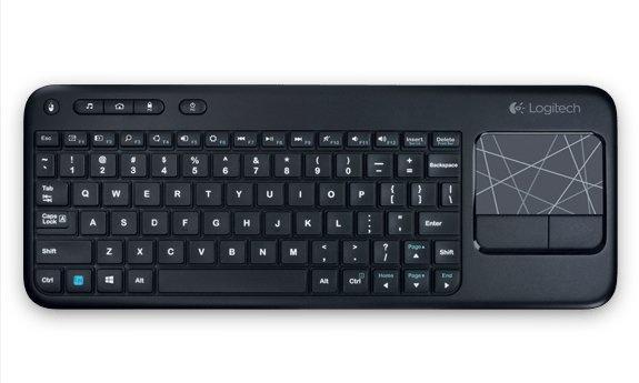 Logitech K400 Touch zwart QWERTZ