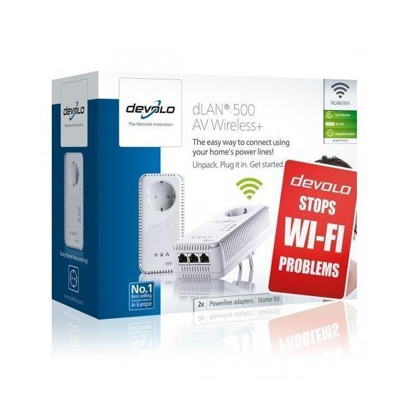 Image of Devolo 500AV Powerline Starter Kit 1831