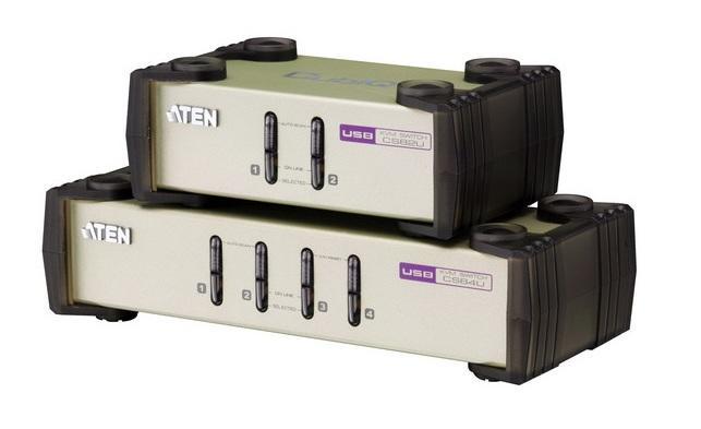 Aten CS84U 4-poorts KVM switch