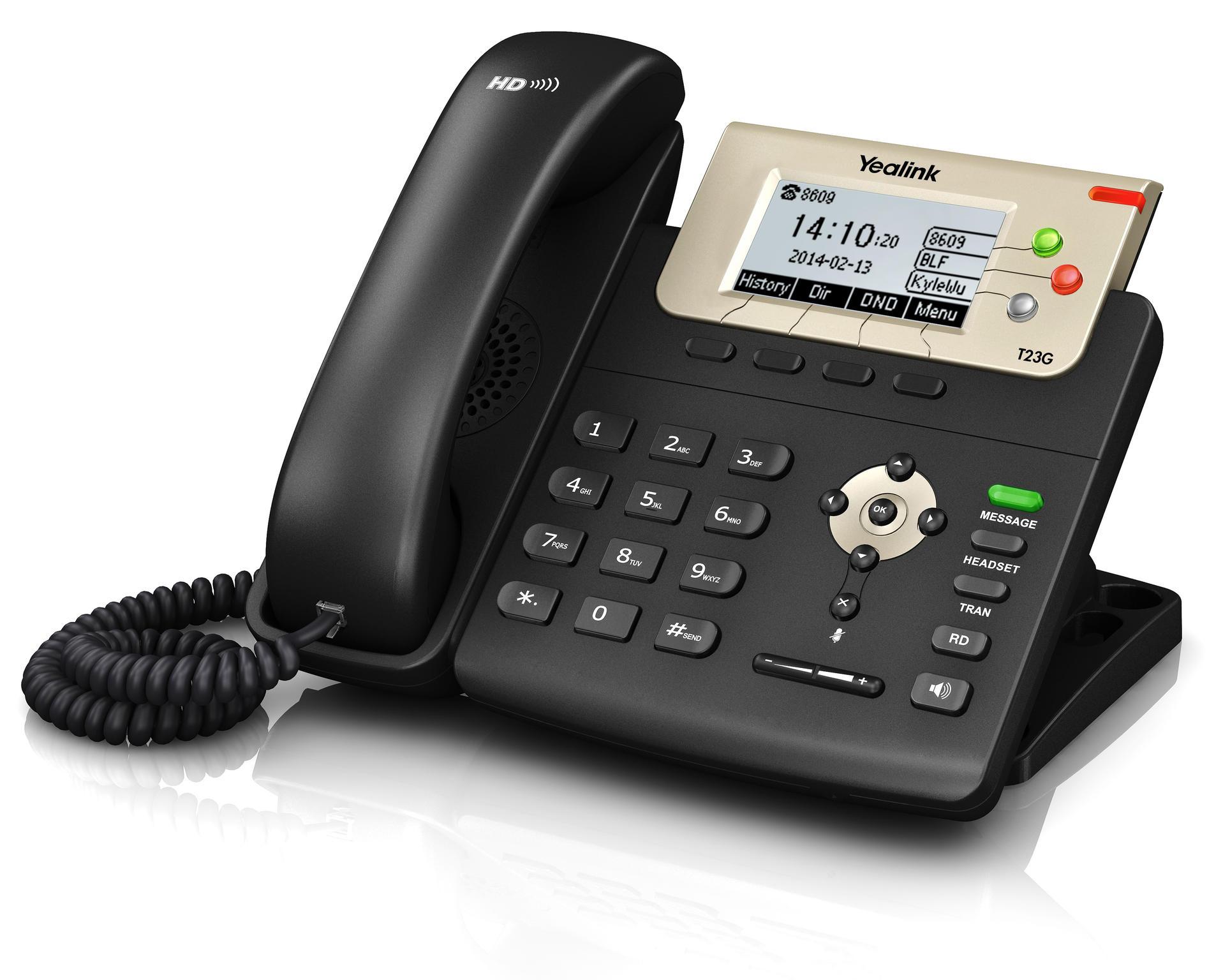 Yealink SIP-T23G VoIP telefoon