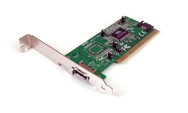 StarTech 1-poort SATA + 1-poort eSATA kaart