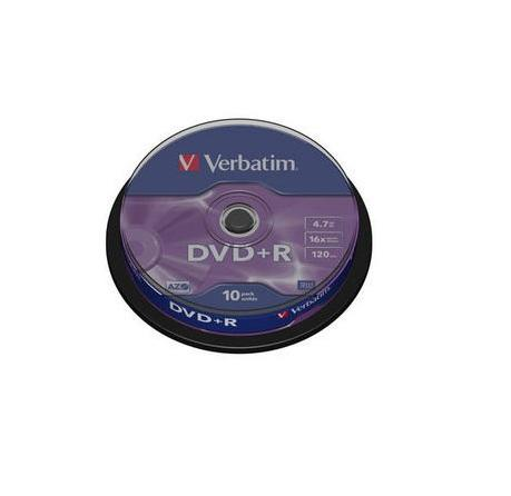 Verbatim DVD+R 10 stuks