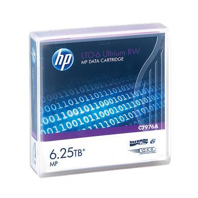 Image of HP Back up Tape/Cartridge LTO-6 Ultrium 6,25TB C7976A