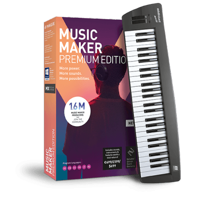 Magix Music Maker Control 2019