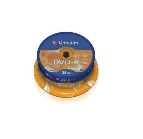 Verbatim DVD-R 25 stuks