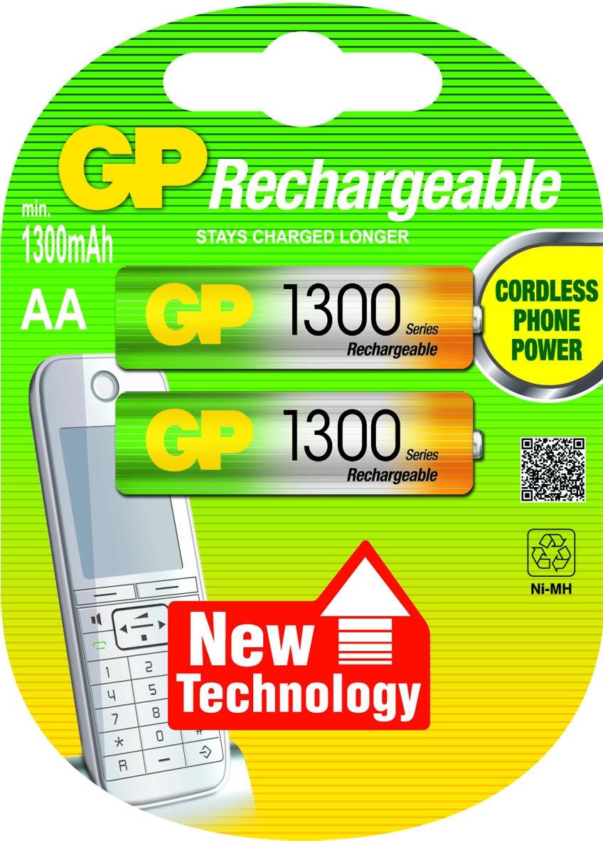 GP AA Oplaadbaar batterijen 2 stuks