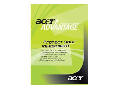 Acer Warranty (Platinum) Upgrade 3 jaar voor Acer tot 18.4