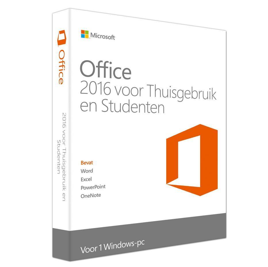 Microsoft Office 2016 Thuis en Studenten