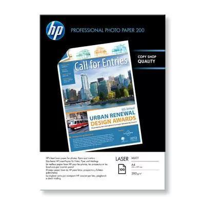 HP Laser mat fotopapier A4, 100 vel, 200gram
