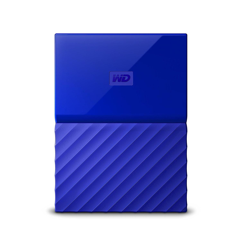 WD My Passport 2TB blauw
