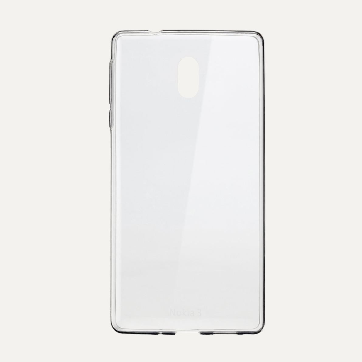 Nokia 3 Slim Crystal cover transparant