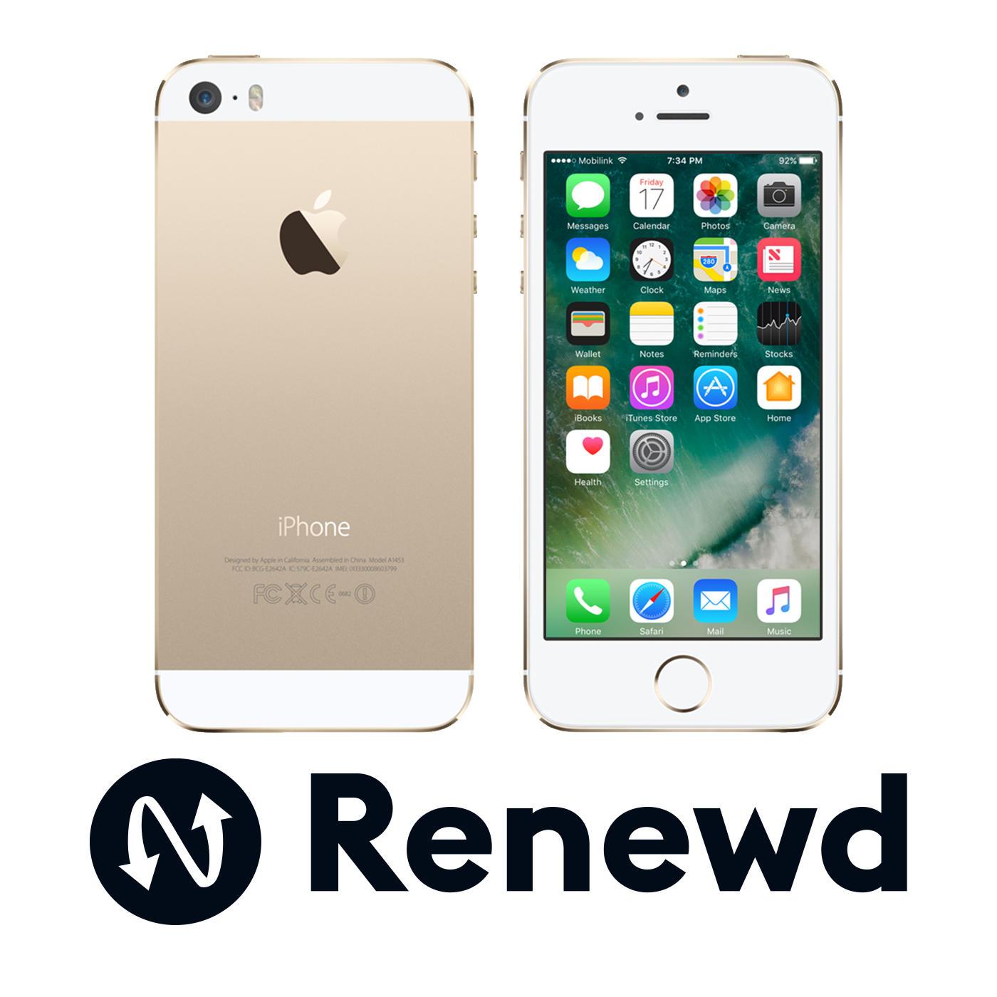 Renewd iPhone 5S 16GB Goud