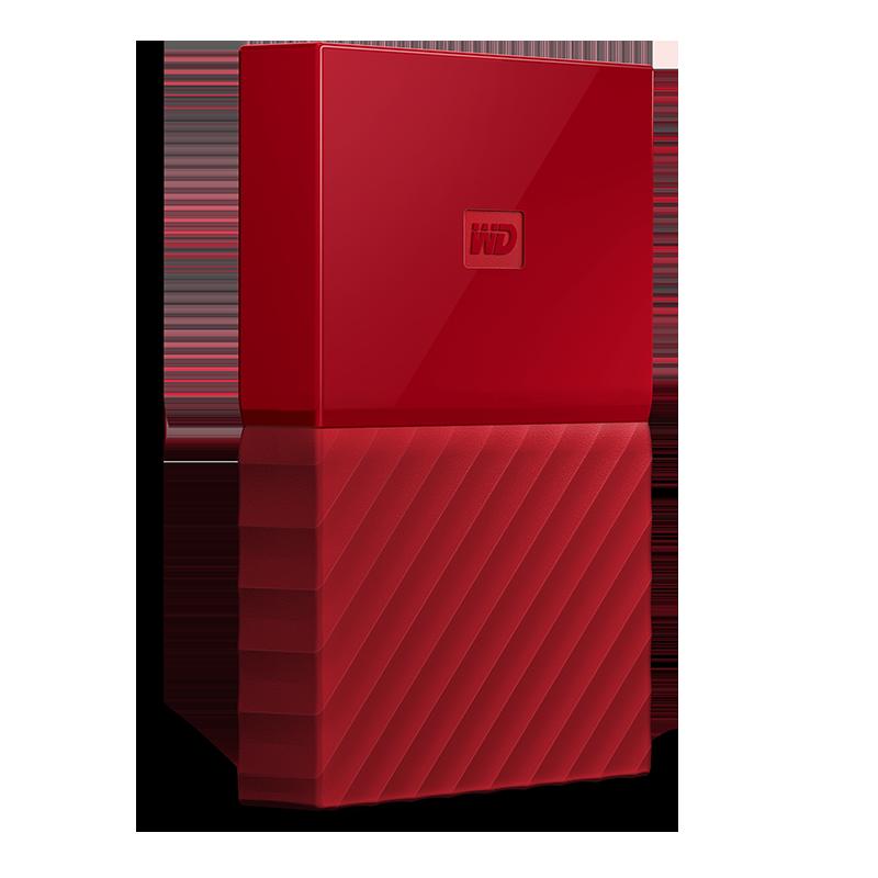WD My Passport 1TB rood