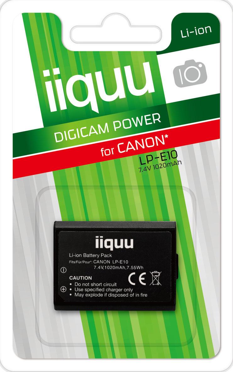 GP Digicam accu voor Canon LP-E10