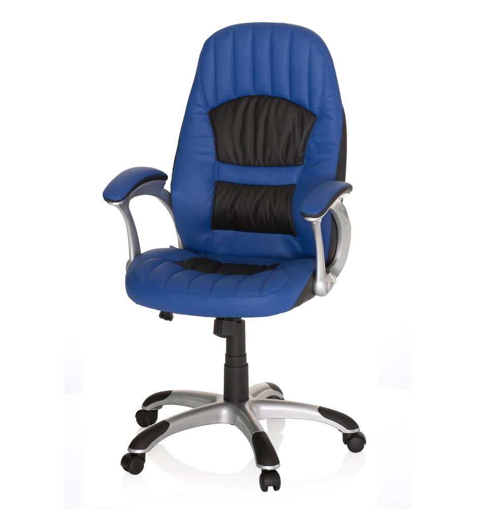 Bureaustoel Racer 200.Hjh Office Racer 200 Gamestoel Blauw