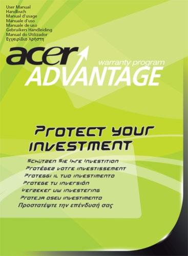 Acer Advantage Netbook Accidental Warranty Upgrade 3 jaar