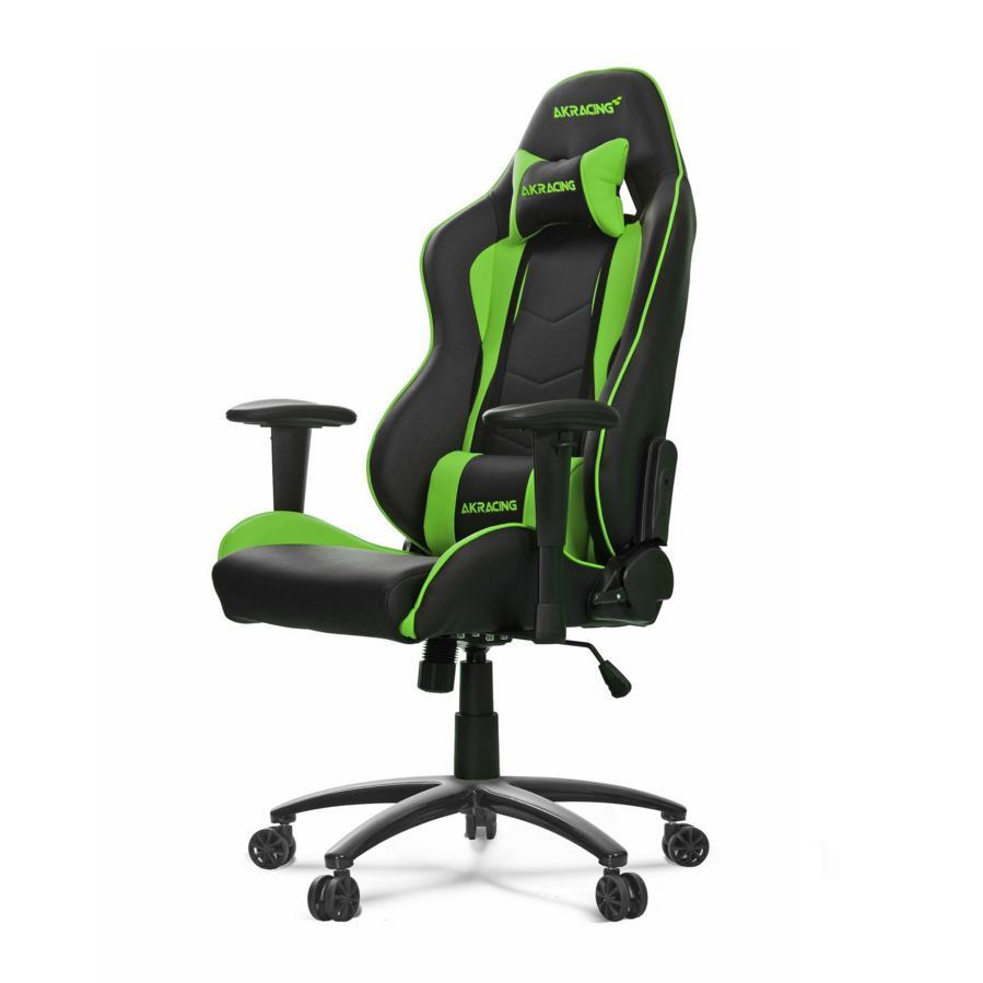 AKRacing Nitro gaming zwart-groen