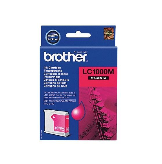 Image of Brother Ink Cartridge Lc1000M Magenta 400Pages