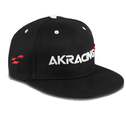 AKRacing SnapBack cap zwart