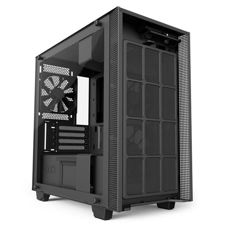 NZXT H400i mat zwart