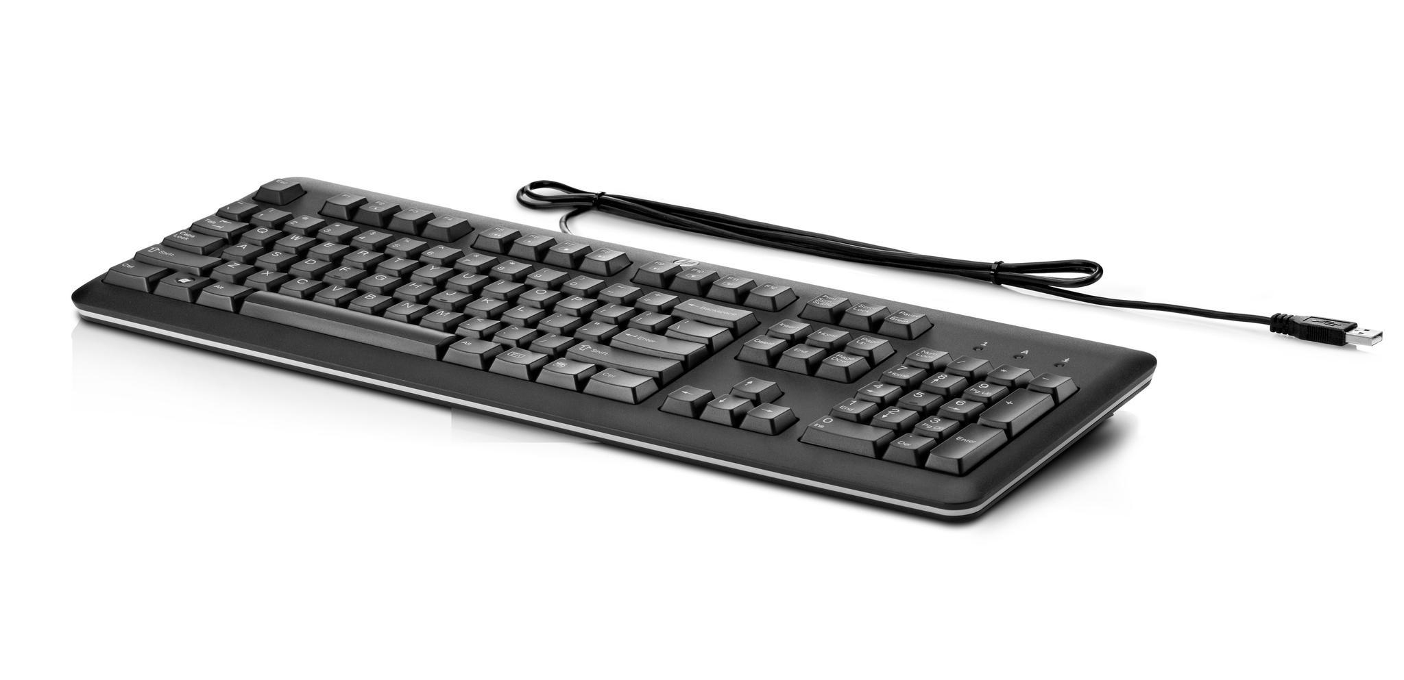 HP USB toetsenbord US QY776AA