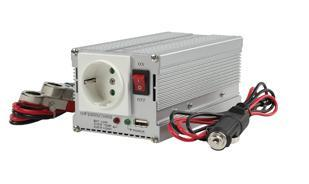 Image of 12V-230V AC Anywhere Power Inverter 300W + USB