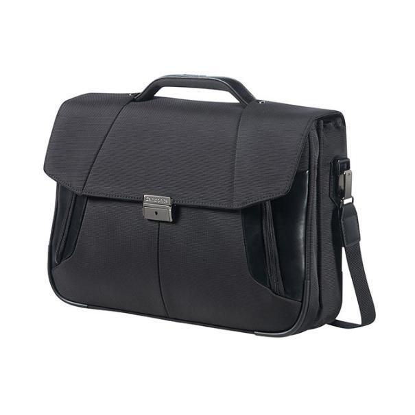 Samsonite XBR Briefcase 2 Gussets 15,6 zwart