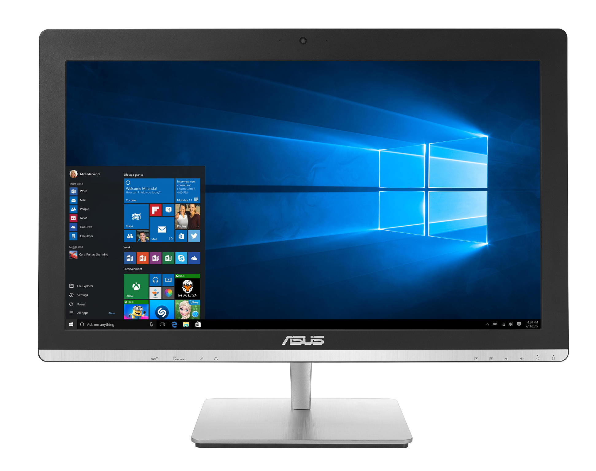 "Image of Asus All in One Touch V230ICGT-BF075X 23"", i5 6400T, 1TB"