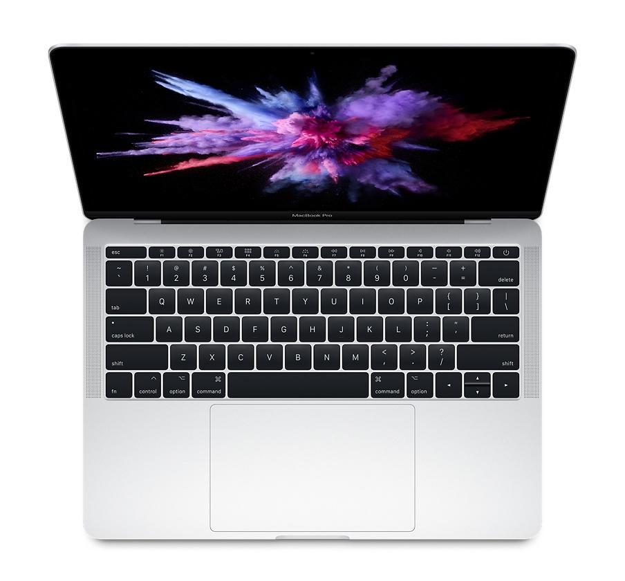 Apple Macbook Pro 2017 13,3 256GB zilver