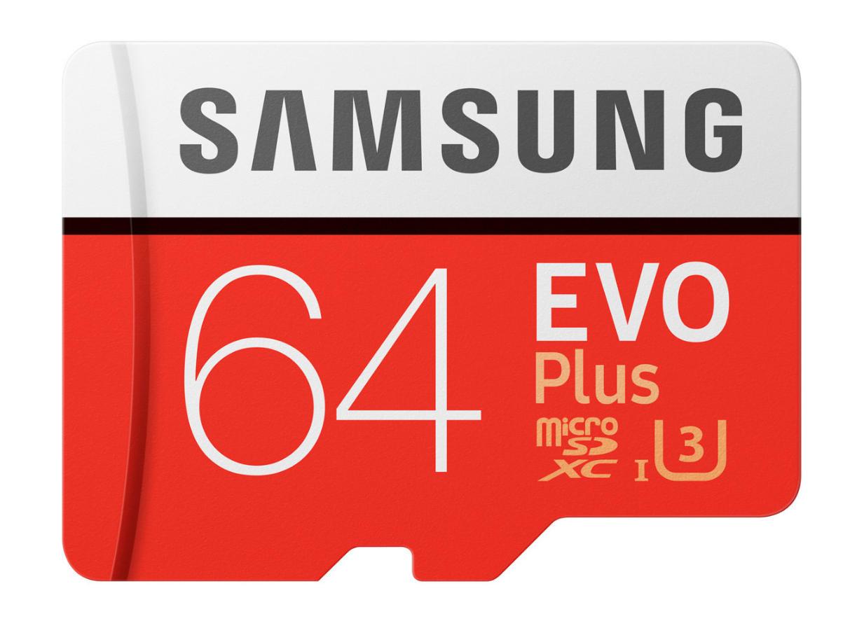 Samsung Evo Plus 64GB microSD