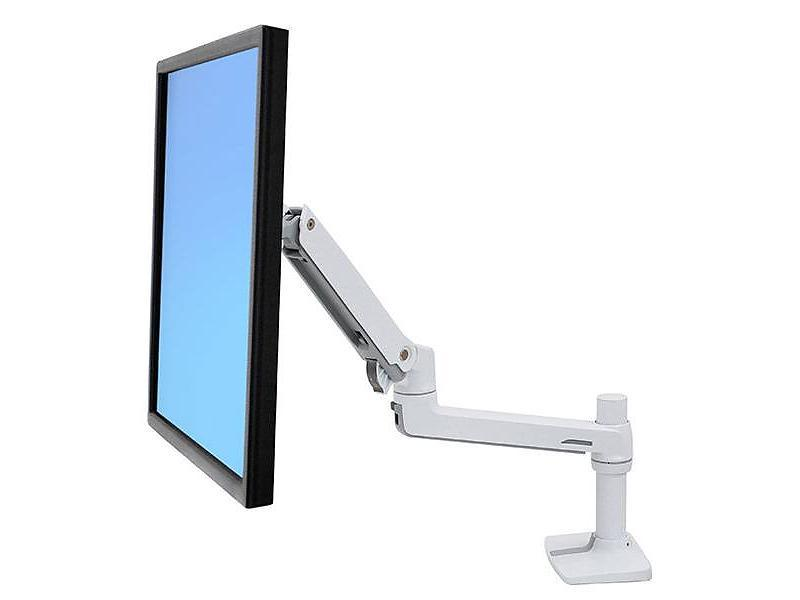 Ergotron LX Desk Mount monitor arm wit
