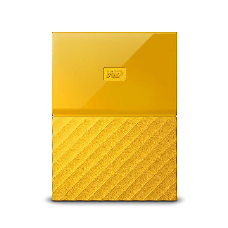 WD My Passport 2TB geel