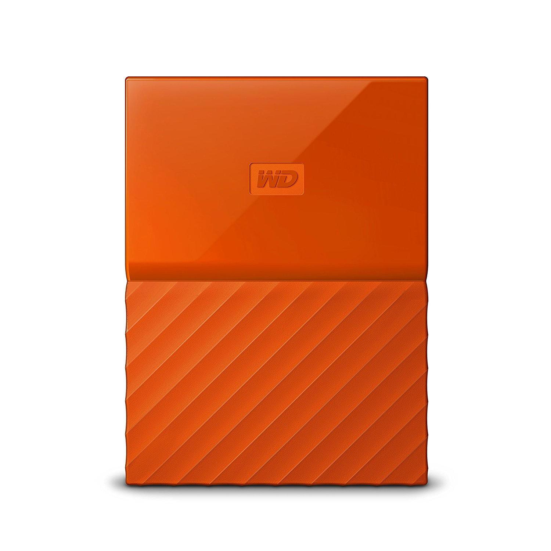 WD My Passport 2TB oranje