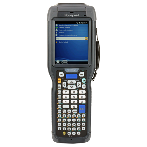 Honeywell Ck75 EX25 data collection