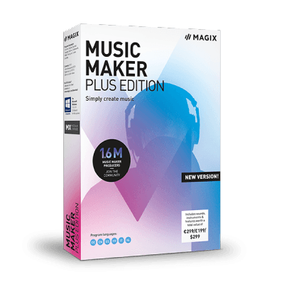 Magix Music Maker Plus 2019