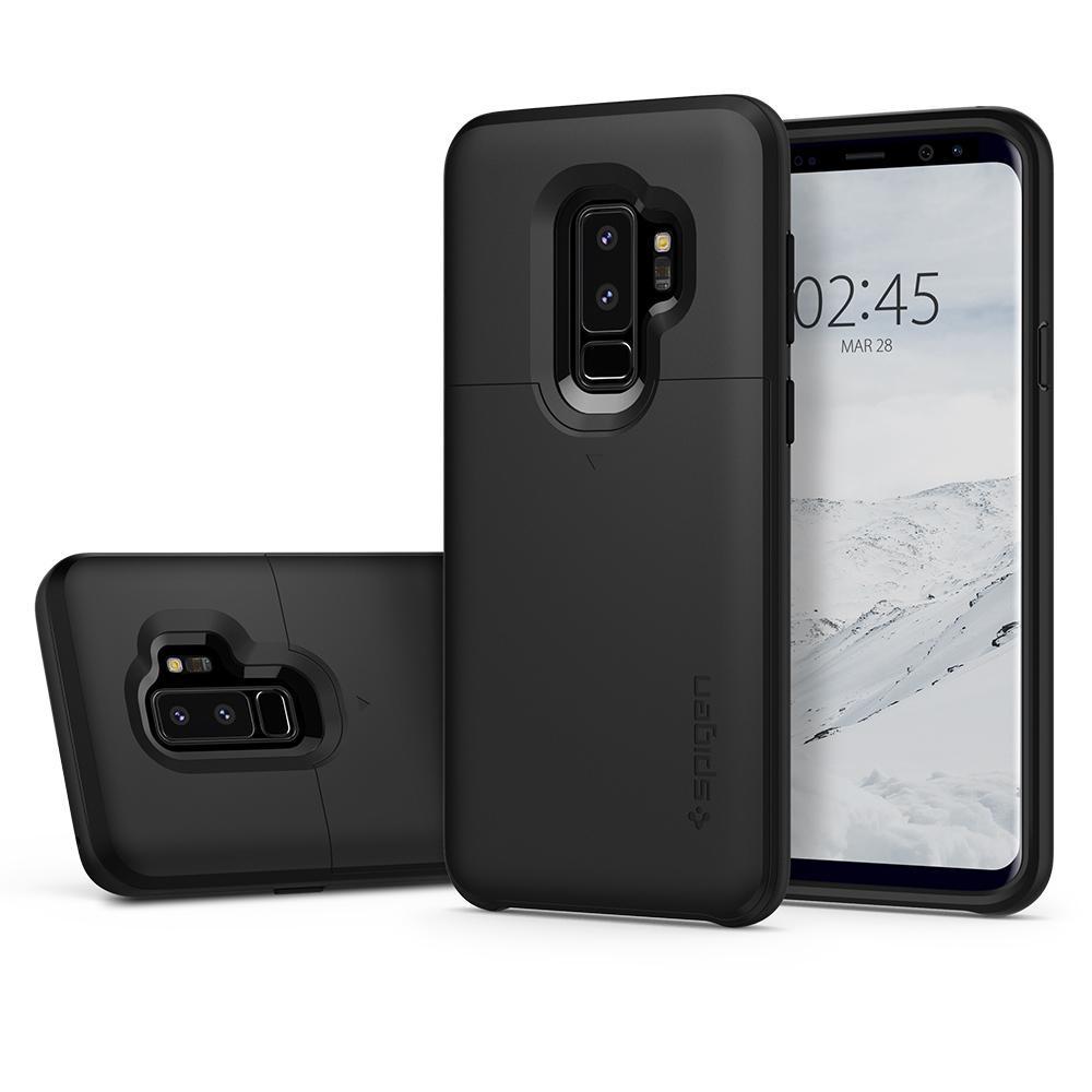 Spigen Slim Armor CS Galaxy S9+ zwart